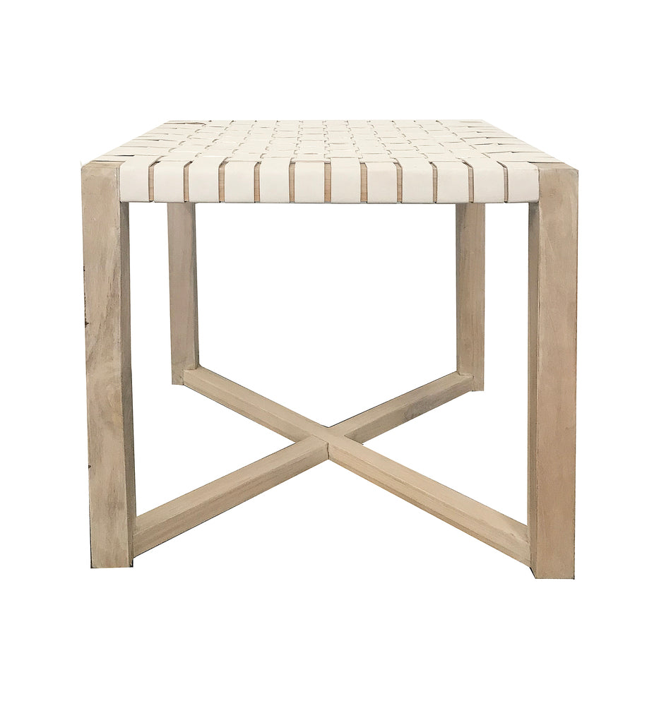 Alf Side Table White