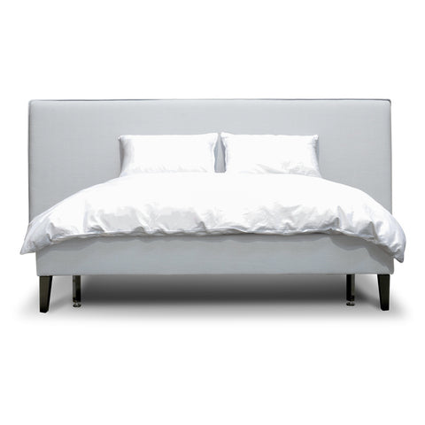 Bilson Bed Queen Cement Grey