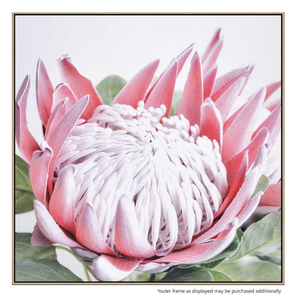 Fortunes In Bloom Canvas Print with Floating Frame