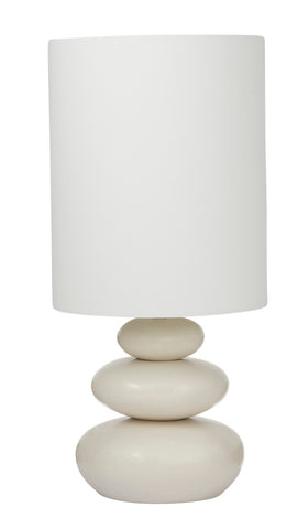 Pebble Table Lamp Pair