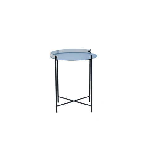 Edge Table Pigeon Blue Small