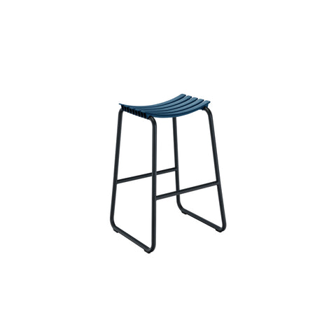 Clips Bar Stool Midnight Blue