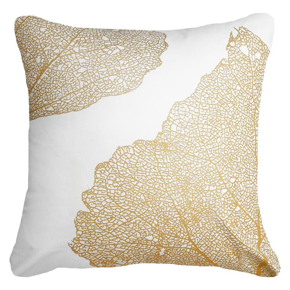 Leaf Bone White Lounge Cushion