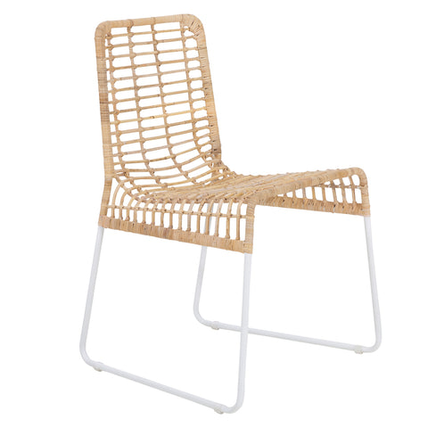 Gonubie Outdoor Bar Chair White