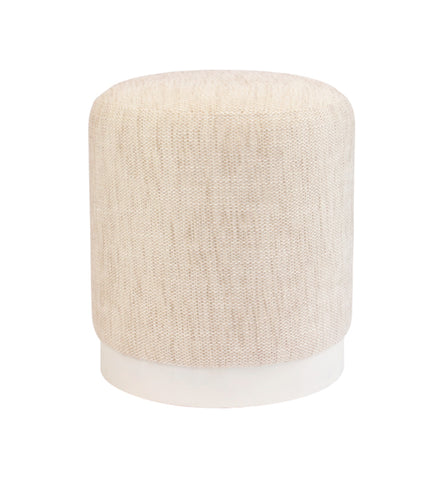 Bobo Ottoman Natural Small