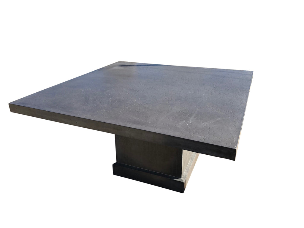 Square Edge Outdoor Square Dining Table