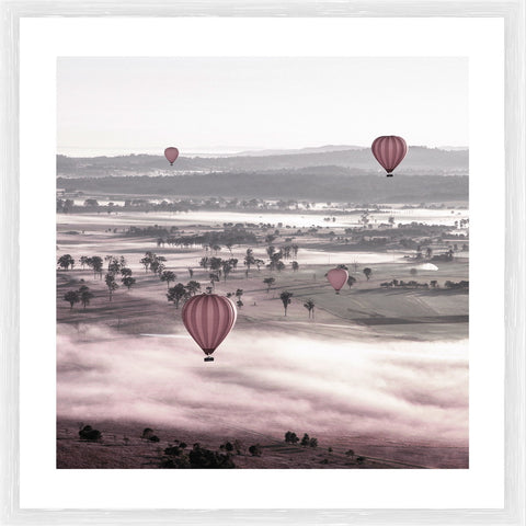 Balloon Ride Photographic Framed Print