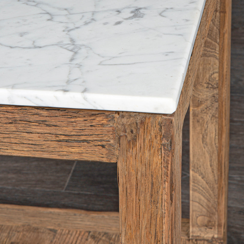 Jermaine Marble Coffee Table