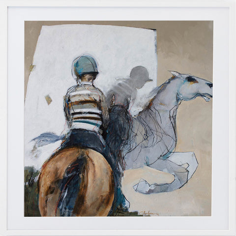 Swan Limited Edition Print By Juli Hutchings