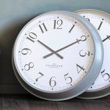 Wright Clock Fossil Grey