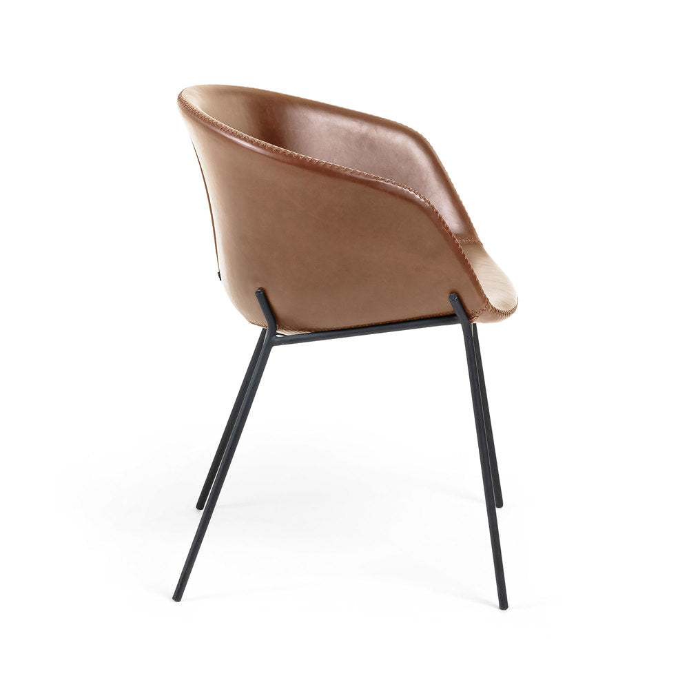 Gianni Armchair Rust Brown