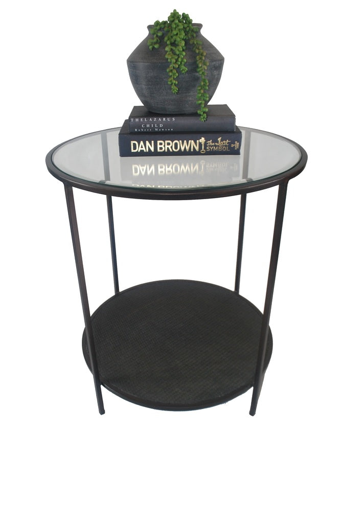 Puerto Side Table Black