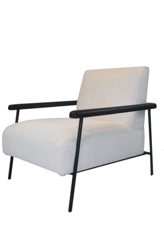 Cairnes Armchair Black Arm
