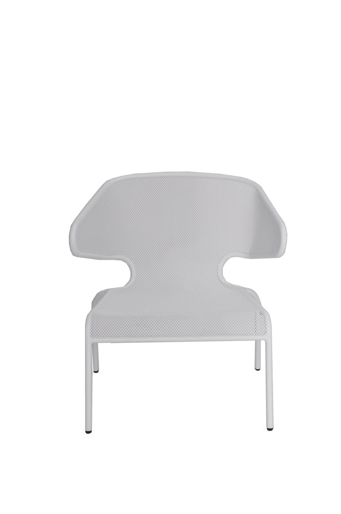 Malmo Outdoor Low Chair White
