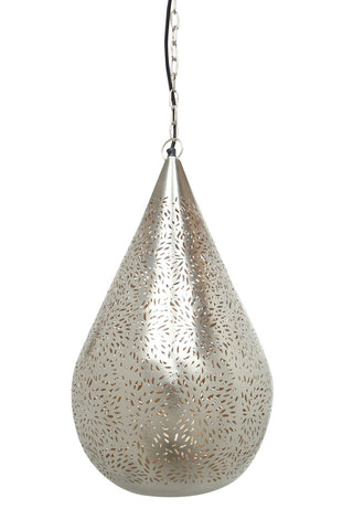 Farida Pendant Nickel Medium