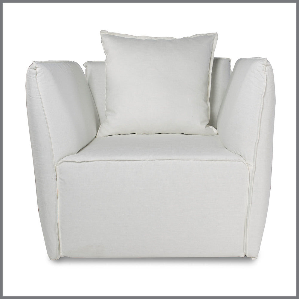 Louella Occasional Chair White