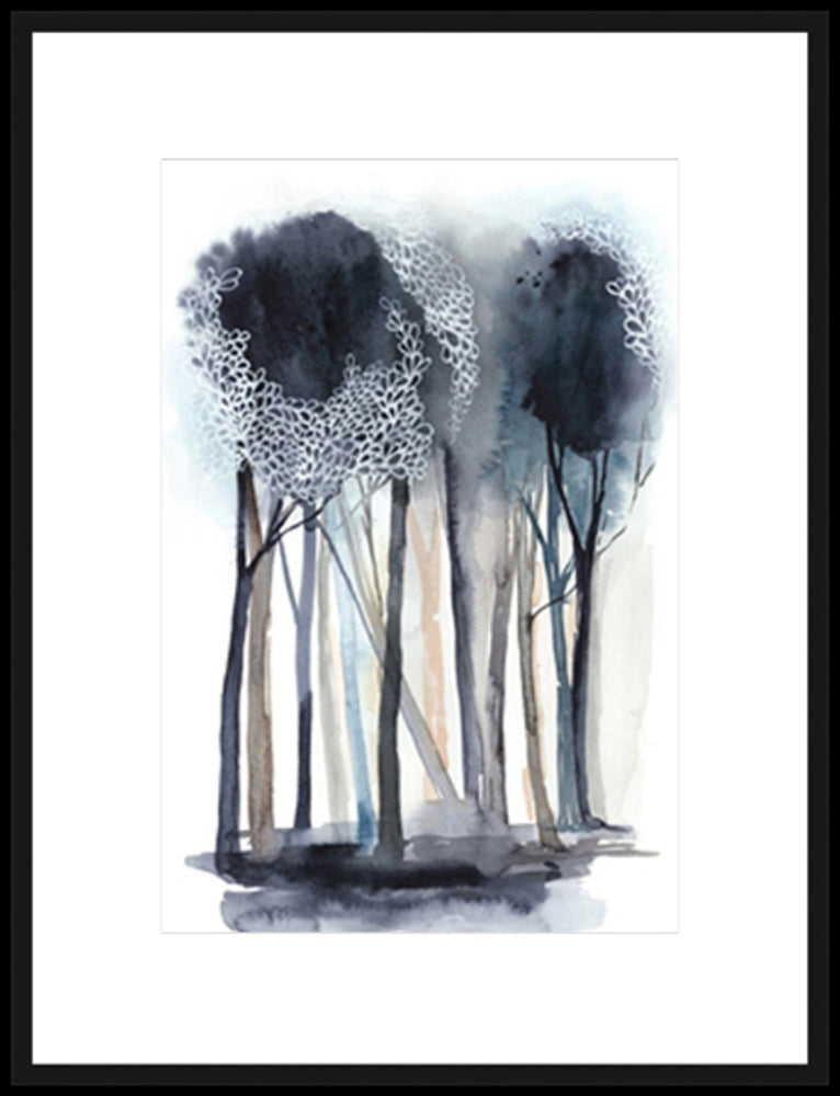 Tranquil Coppice I Framed Print