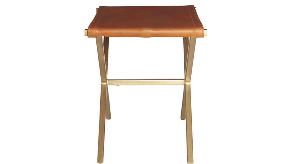Nel Leather Stool