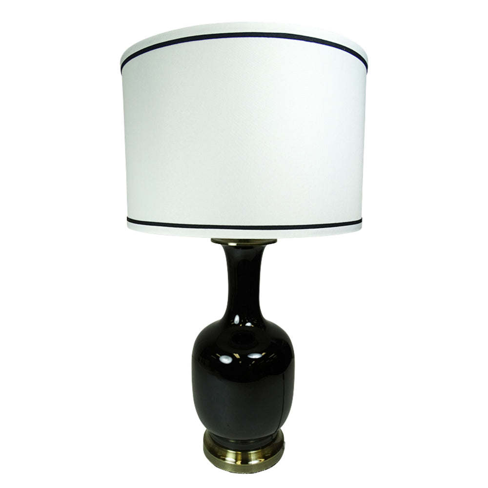 Roberston Table Lamp Black