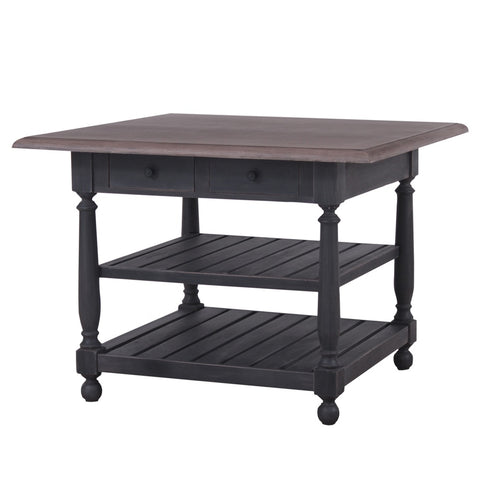 Kitchen Island Table Black