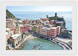 Napoli Photographic Print with Frame