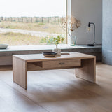 Kiefer Coffee Table with Drawer