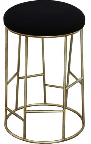 Ainsley Barstool Silver Grey