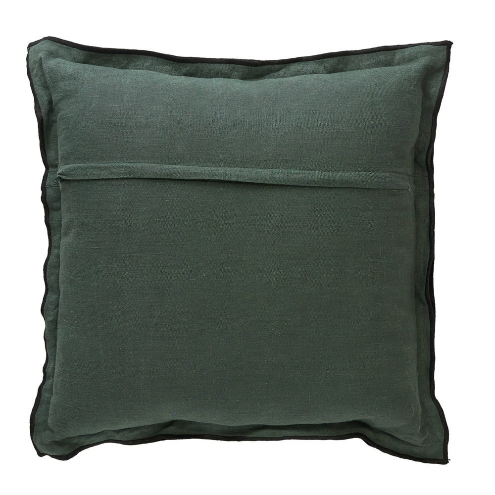 Army Stripe Fern Cushion