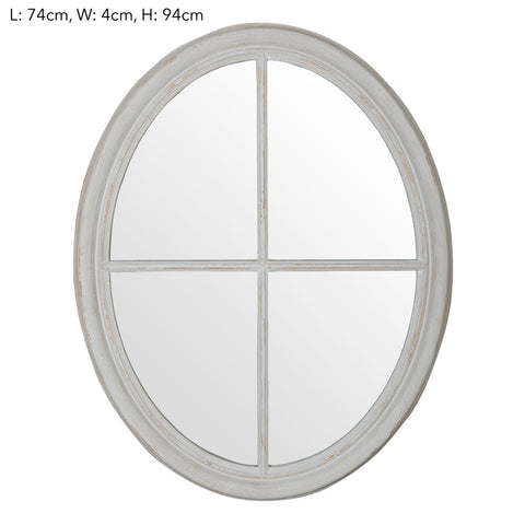 Patrice Oval Mirror