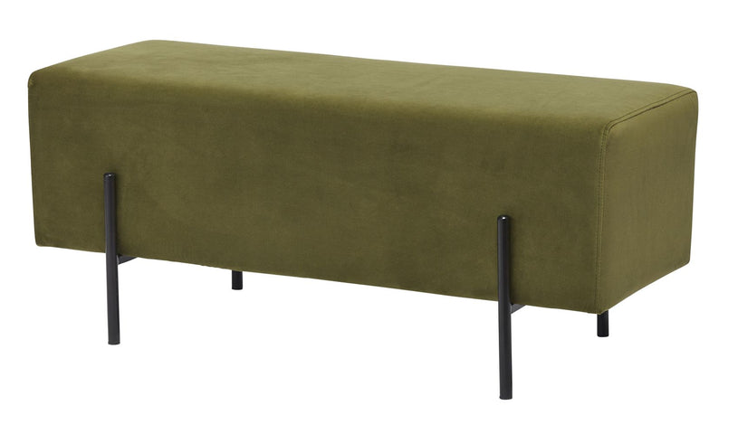 Azea Bench Seat Smoke Green