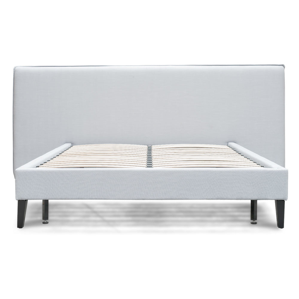 Aiden Bed Queen Cement Grey