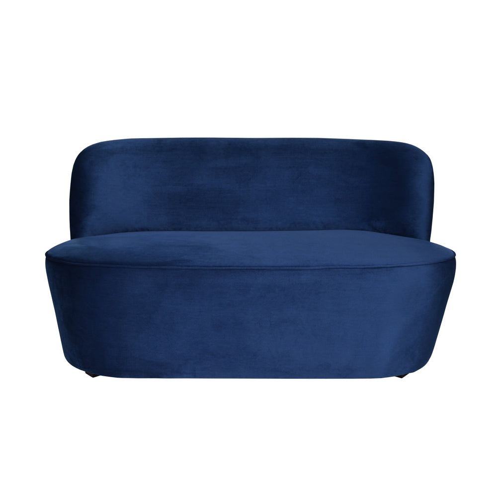 Elena 2 Seat Sofa French Navy Velvet