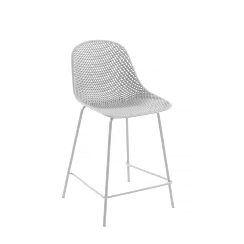 Quade Indoor/Outdoor Counter Stool White