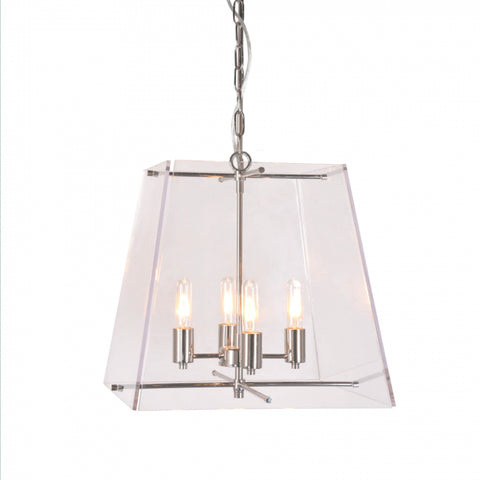 Harrison Ceiling Lamp Antique Silver
