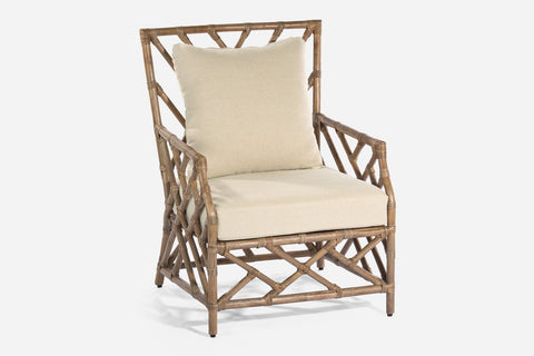 Chinois Rattan Side Table