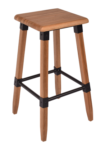 Carey Elm Stool Natural