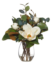 Magnolia Mix in Claire Vase White