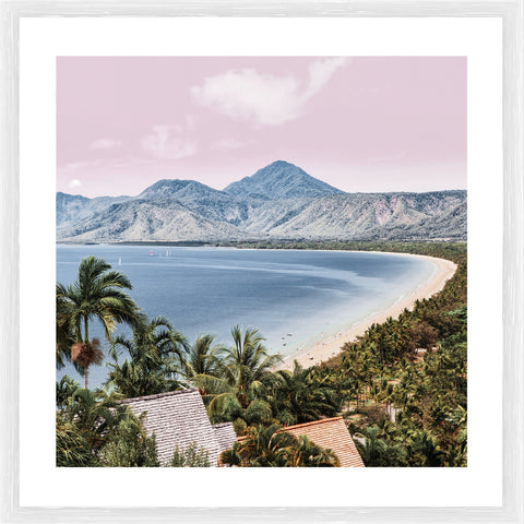 Coulandra Beach Photographic Framed Print