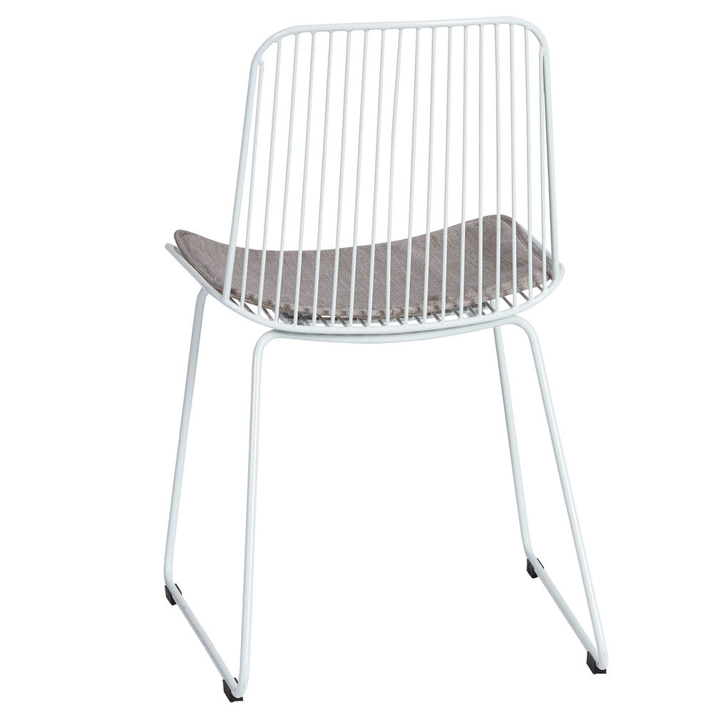 Blanche Indoor/Outdoor Dining Chair White