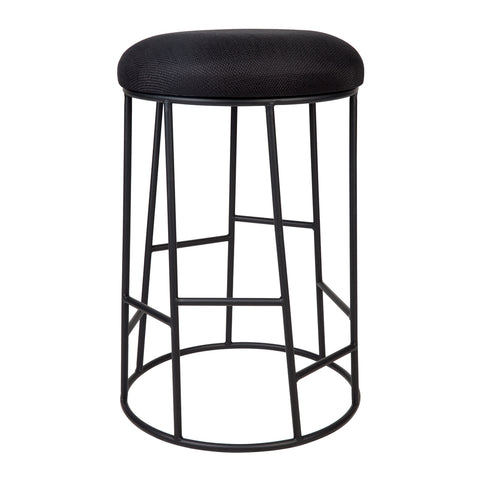 Clips Bar Stool Black