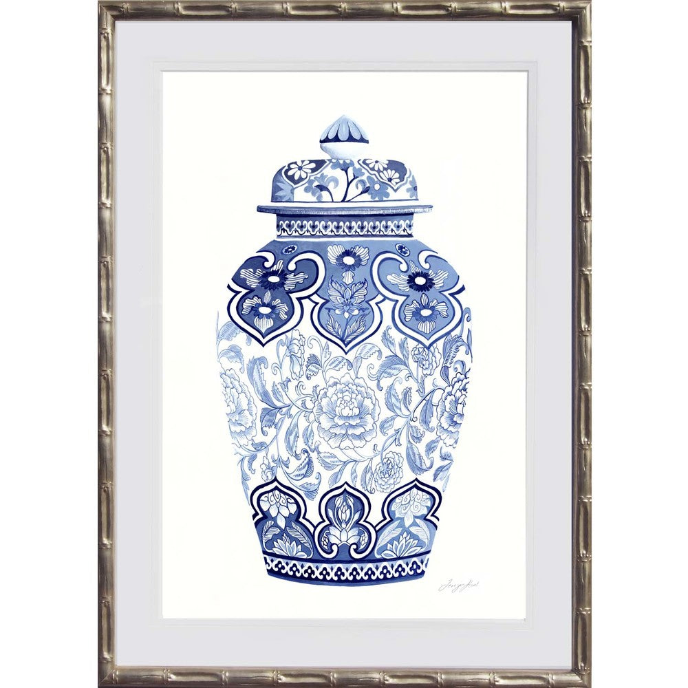 Blue and White China Print 4