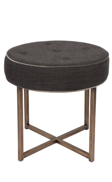 X Stool Donkey Grey