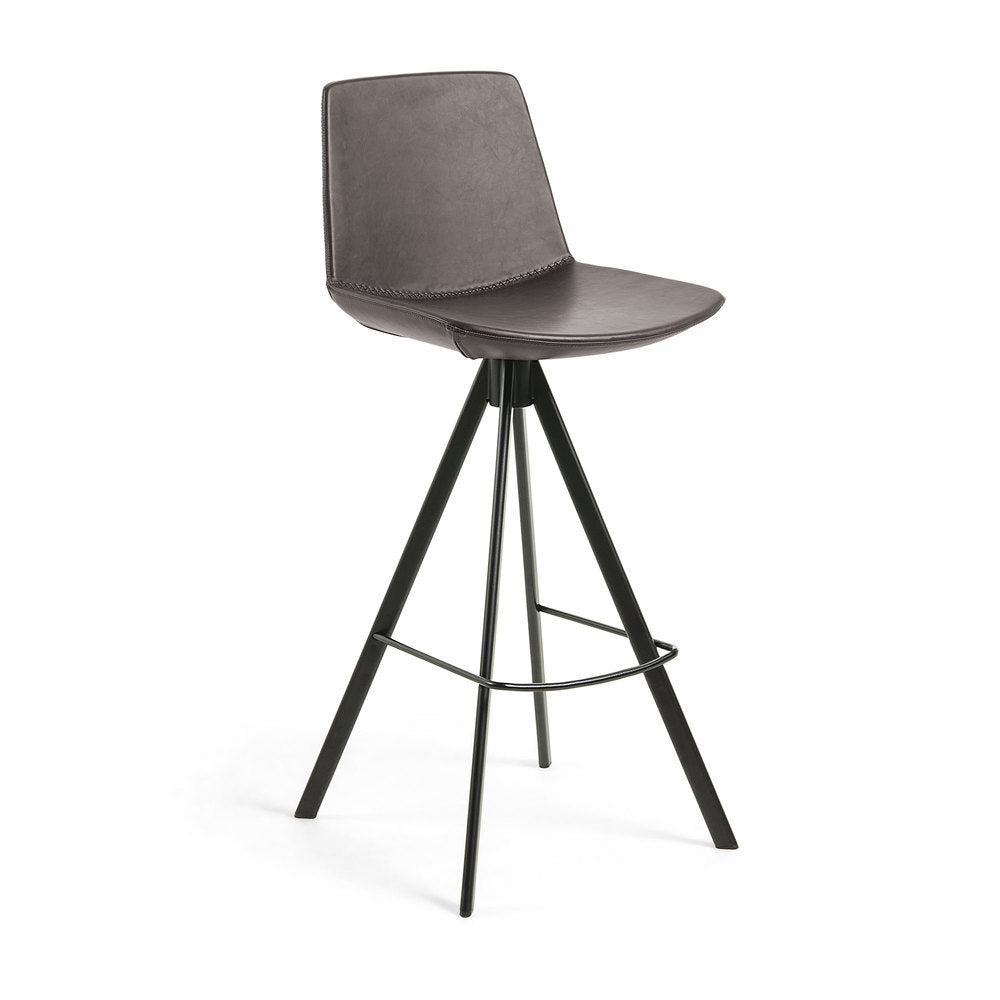 Salvatore Barstool Dark Brown