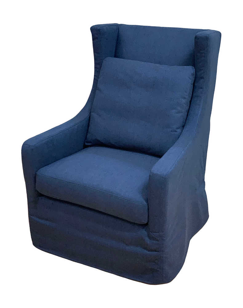 Albert Swivel Chair Navy