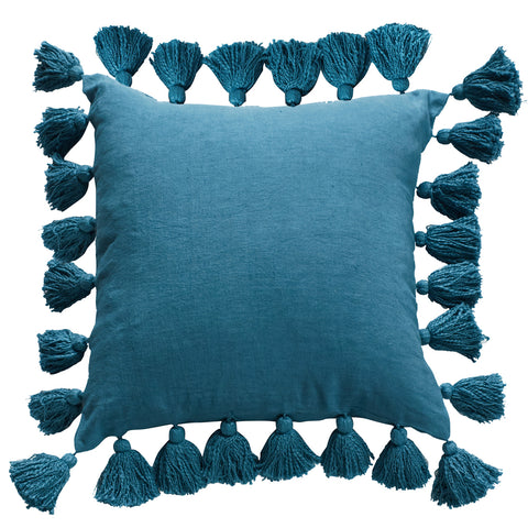 Vasna Heritage Pacific Blue Cushion