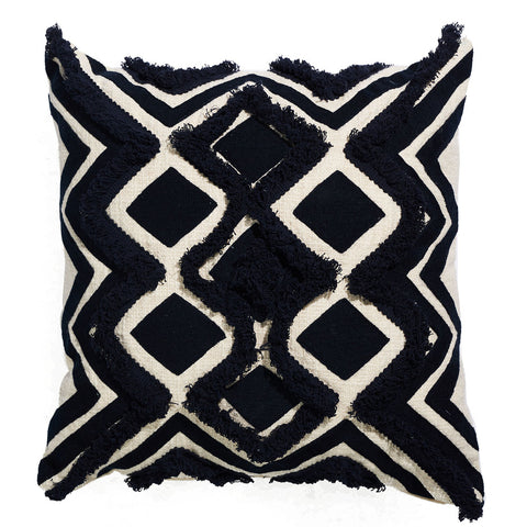 Boho Coastal Luxe Velvet Cushion