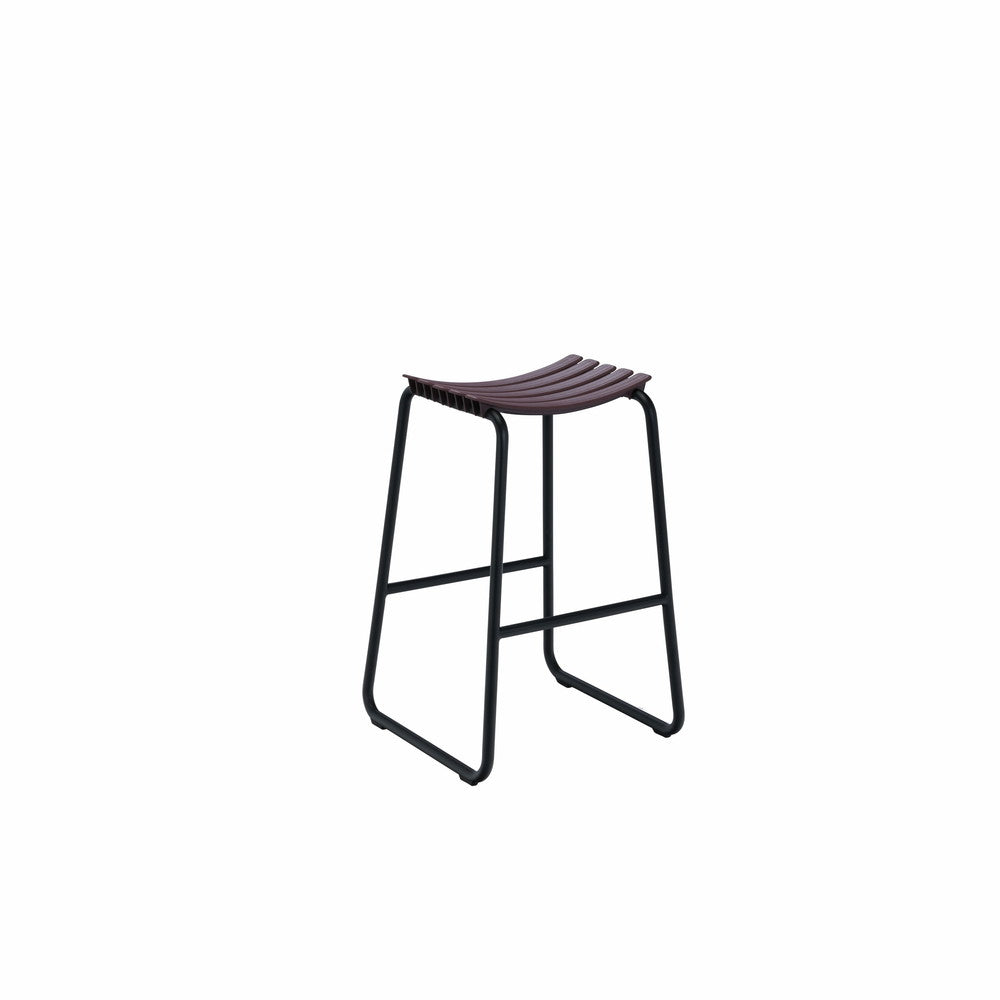 Clips Bar Stool Plum