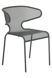 Malmo Outdoor Dining Chair Anthracite