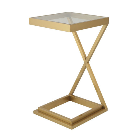 Pearce Cross Side Table