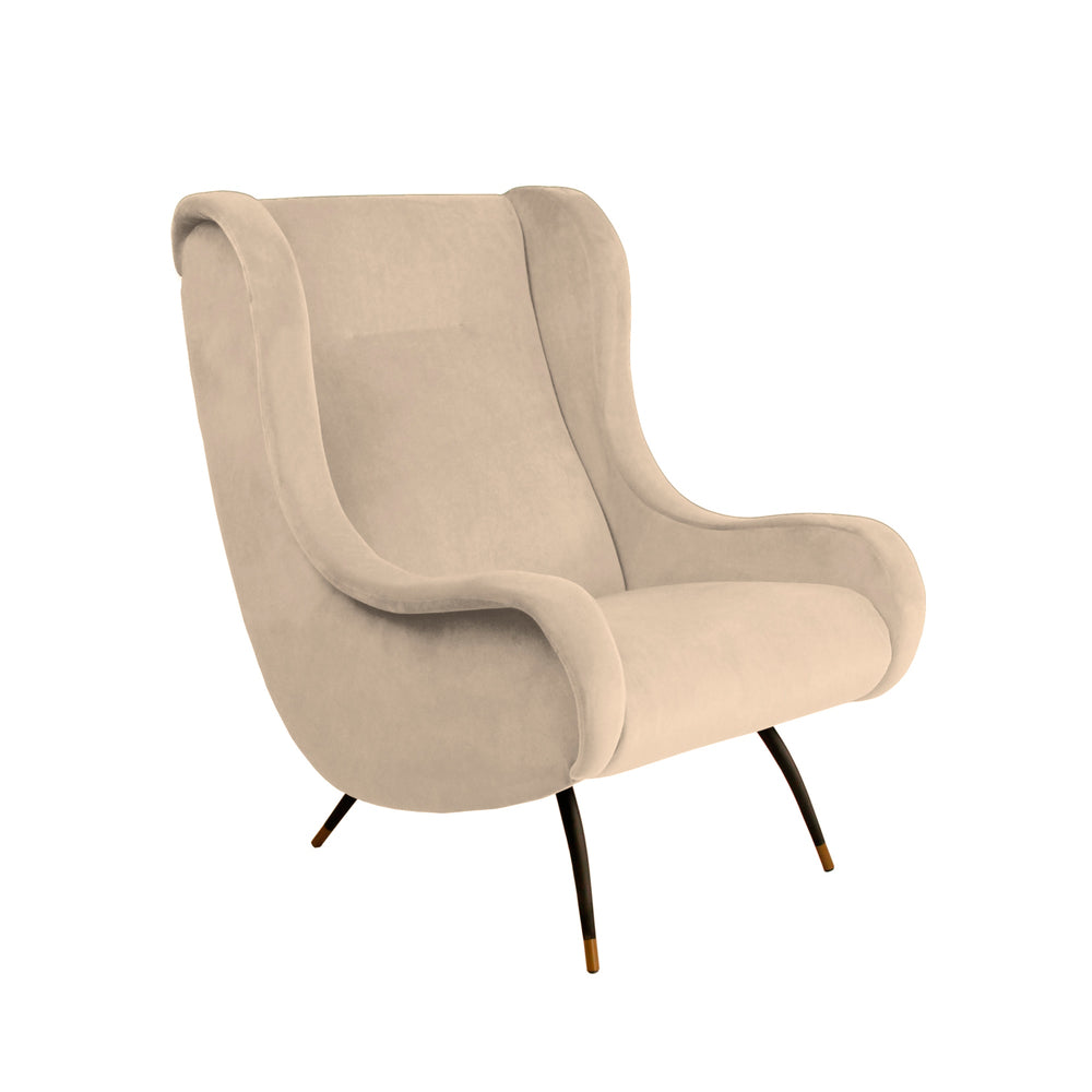 Milan Verona Chair Ivory